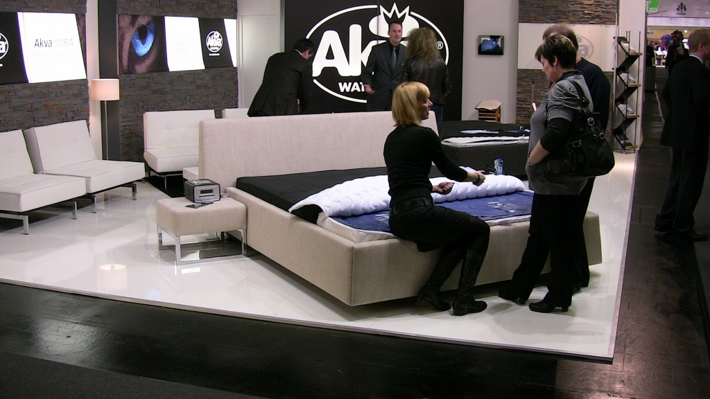 Messestand Akva