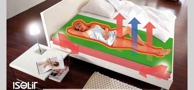 isolationstechnik f rs wasserbett. Black Bedroom Furniture Sets. Home Design Ideas