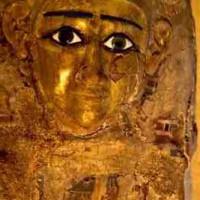 Ägyptische Totenmaske